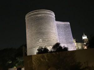 乙女の塔の夜景