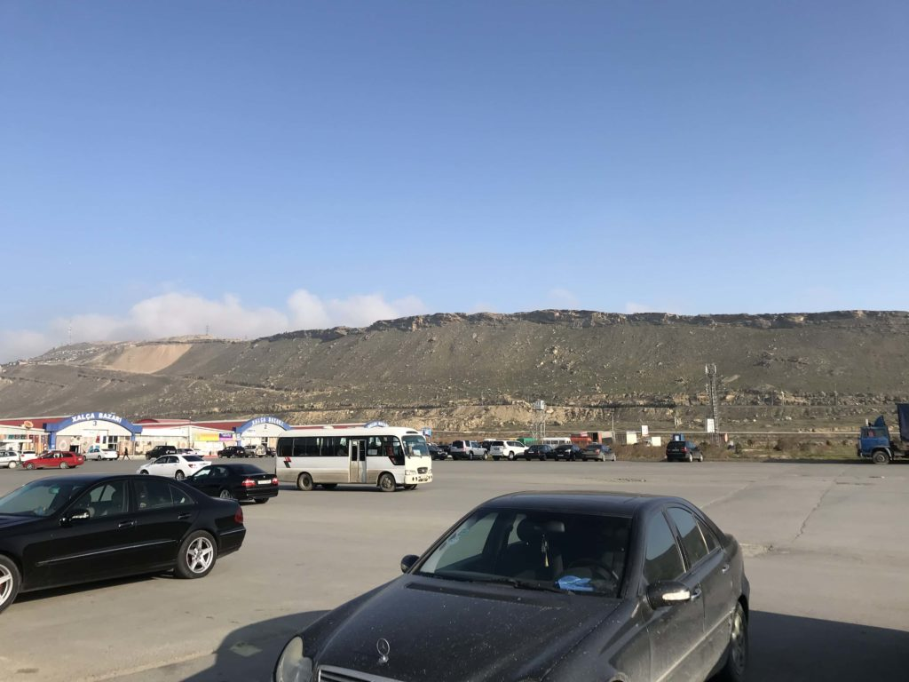サデラックの駐車場