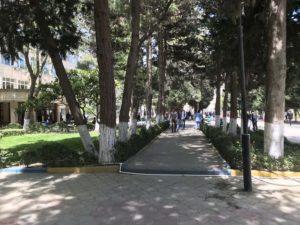 Baku State University キャンパス