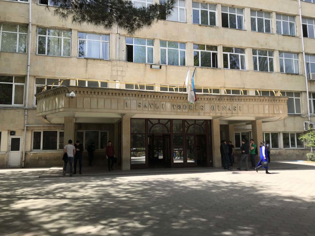 Baku State University 校舎