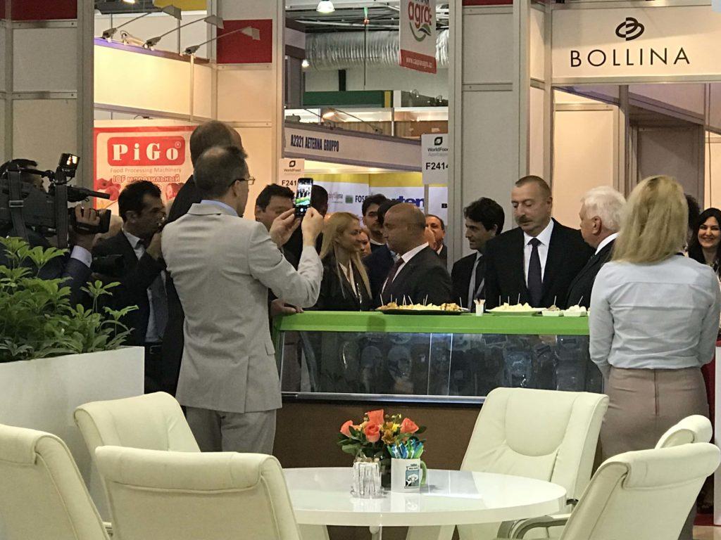 イルハム・アリエフ大統領