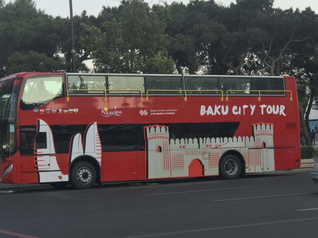 バクー観光バス