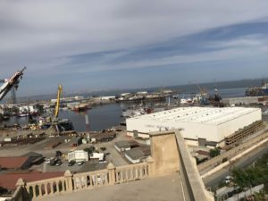 ビビヘイバットモスクの眺望