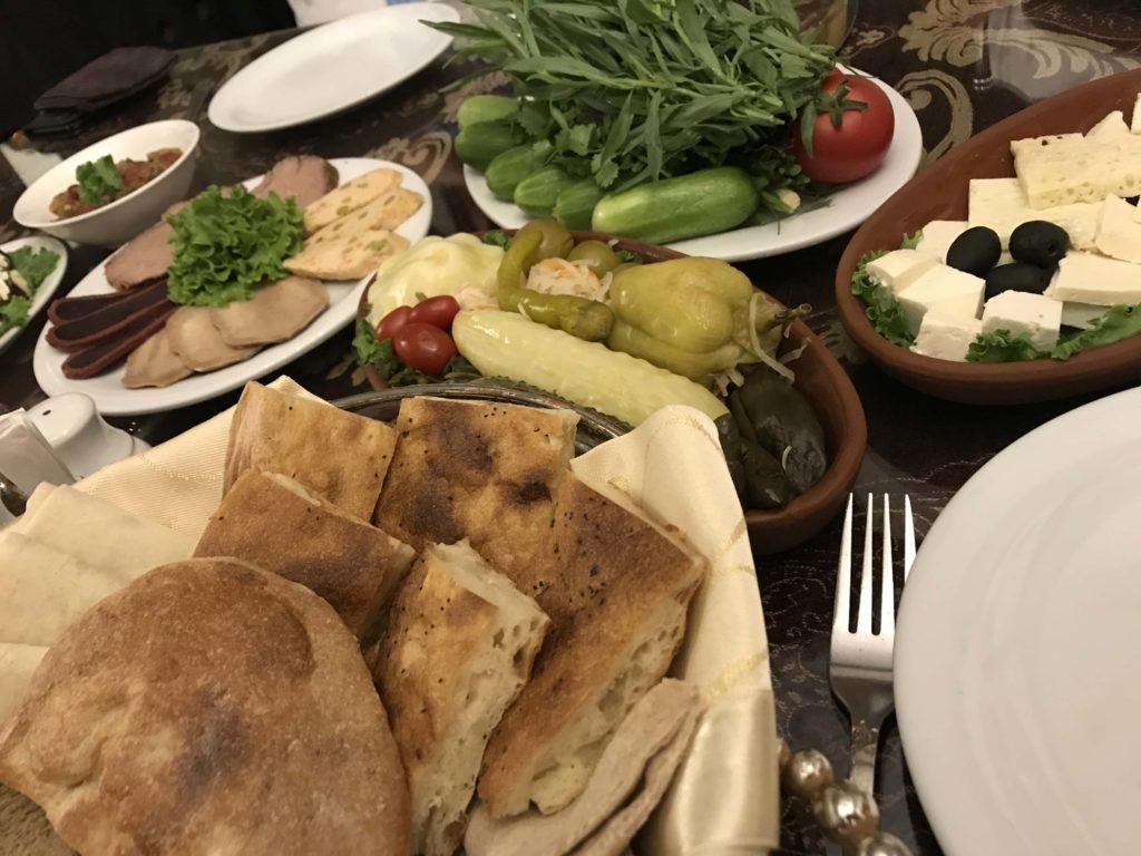 Sirvanshar 料理