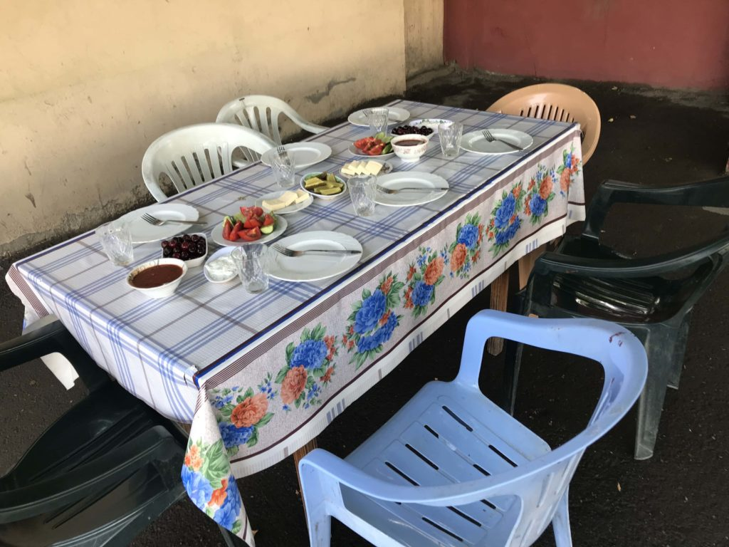 BBQレストラン 席