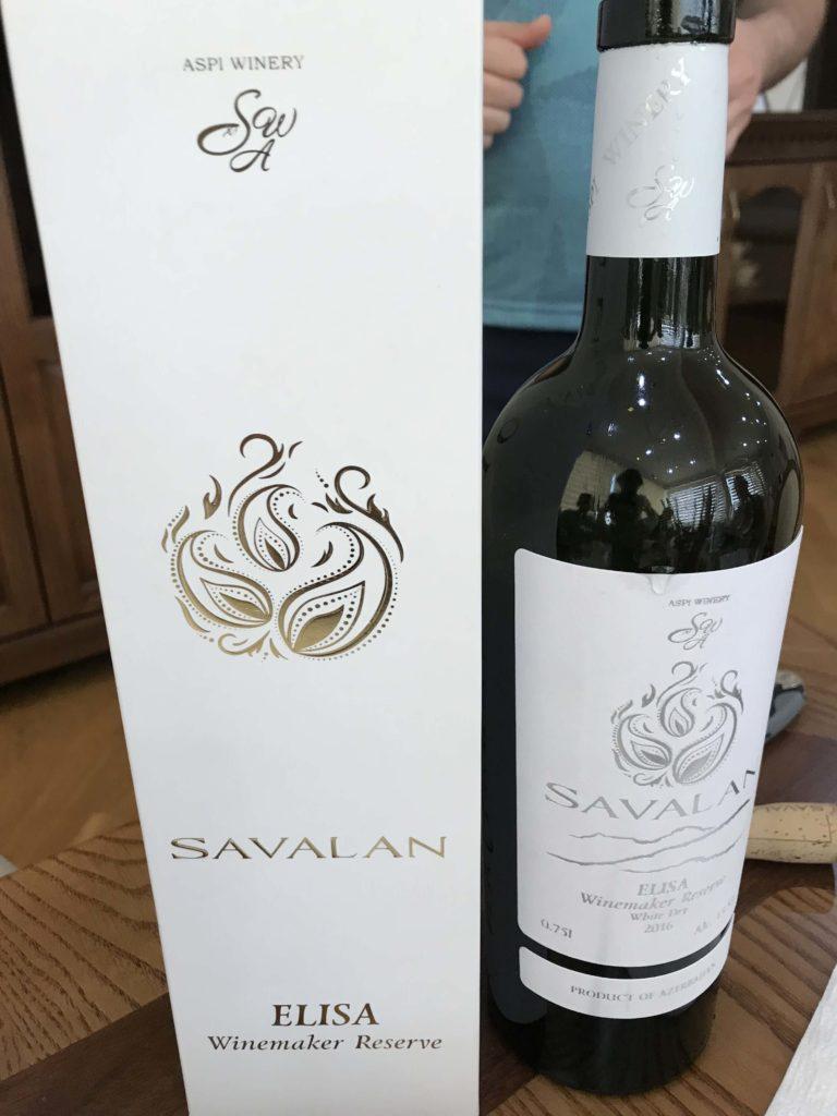 SAVALANワイナリー 限定白ワイン