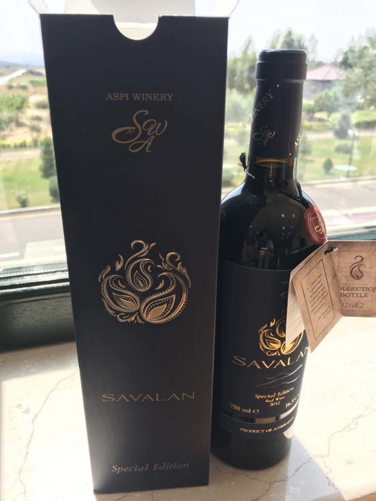 SAVALANワイナリー 限定赤ワイン