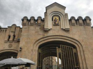 ジョージア教会 エントランス