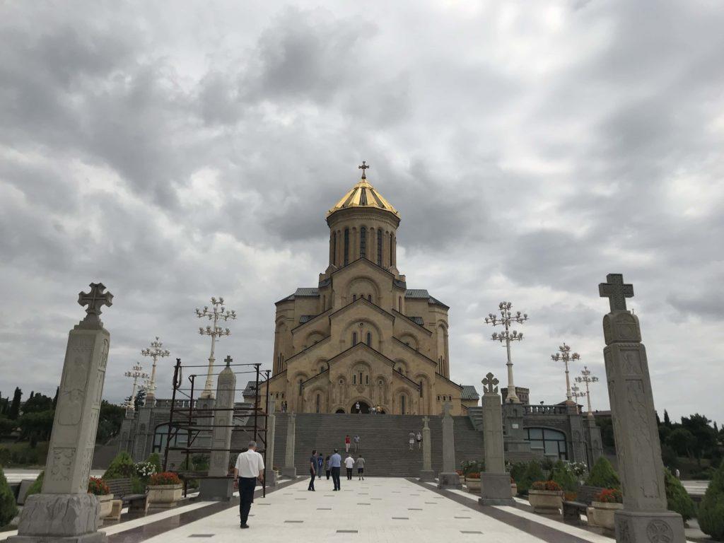 ジョージア教会 参道