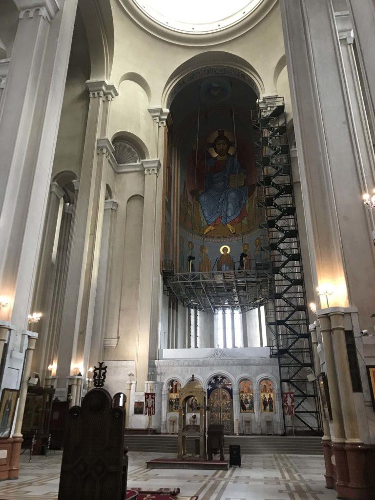ジョージア教会 装飾