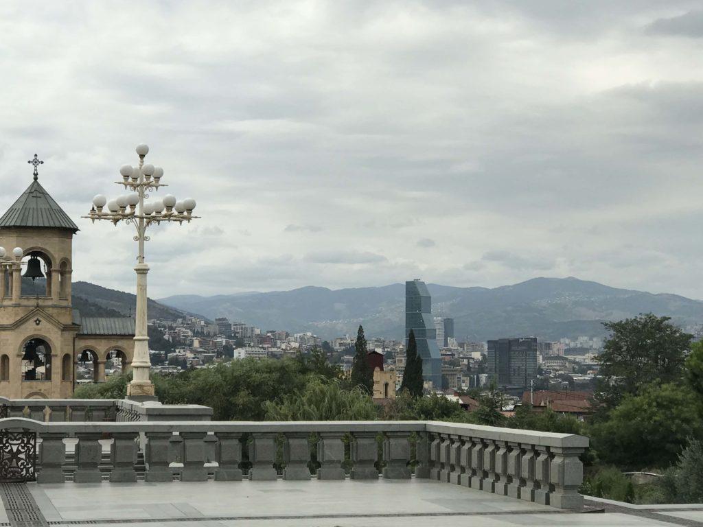 ジョージア教会 眺望