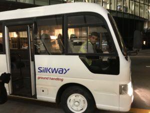 クルー用バス
