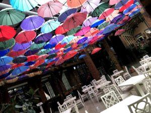 傘の飾り物