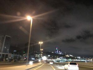 バクーの夜景