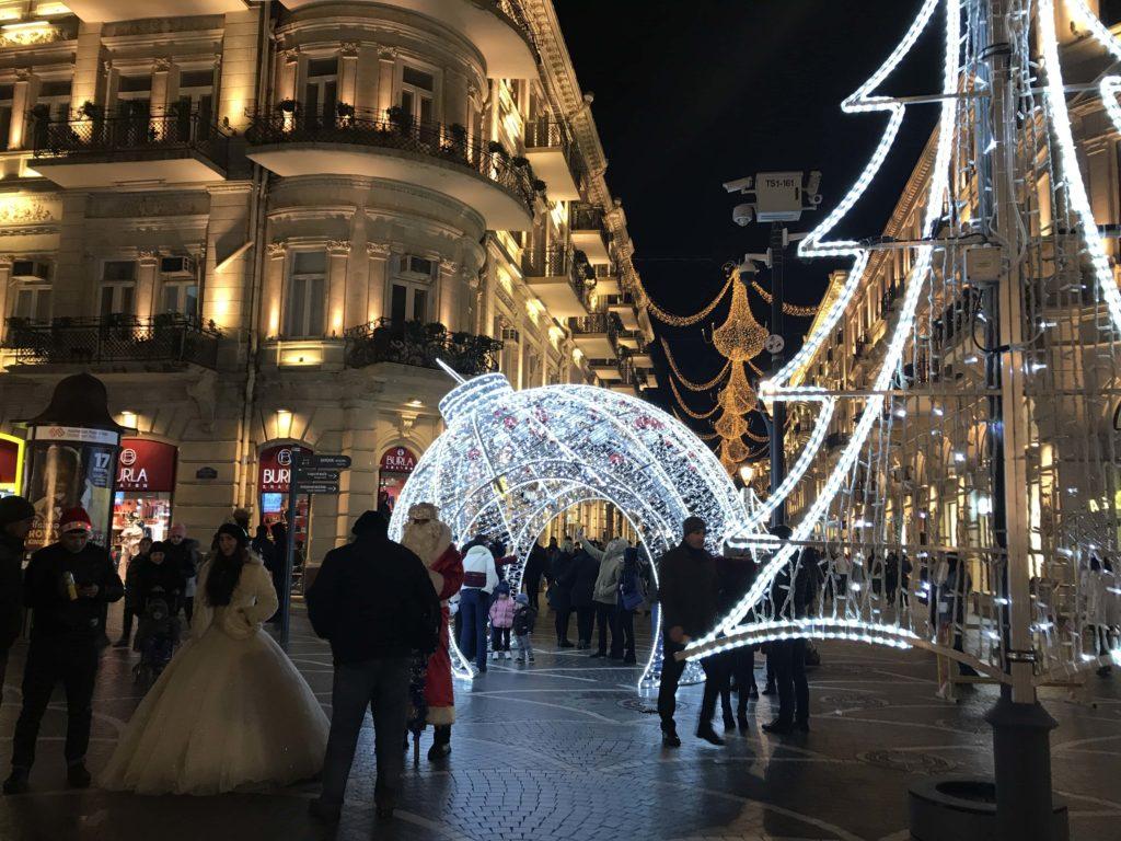 クリスマスのライトアップ