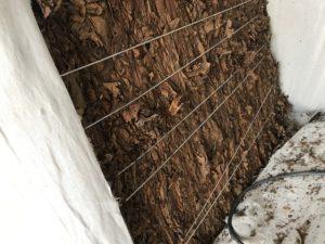 乾燥タバコ葉ブロック