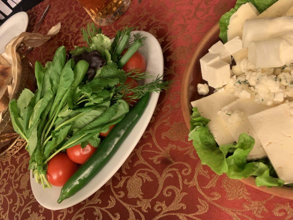 アゼルバイジャン料理の前菜