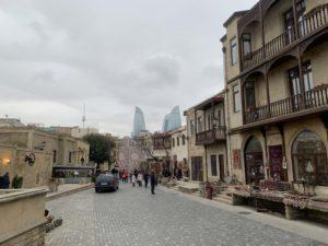 旧市街地からの景色