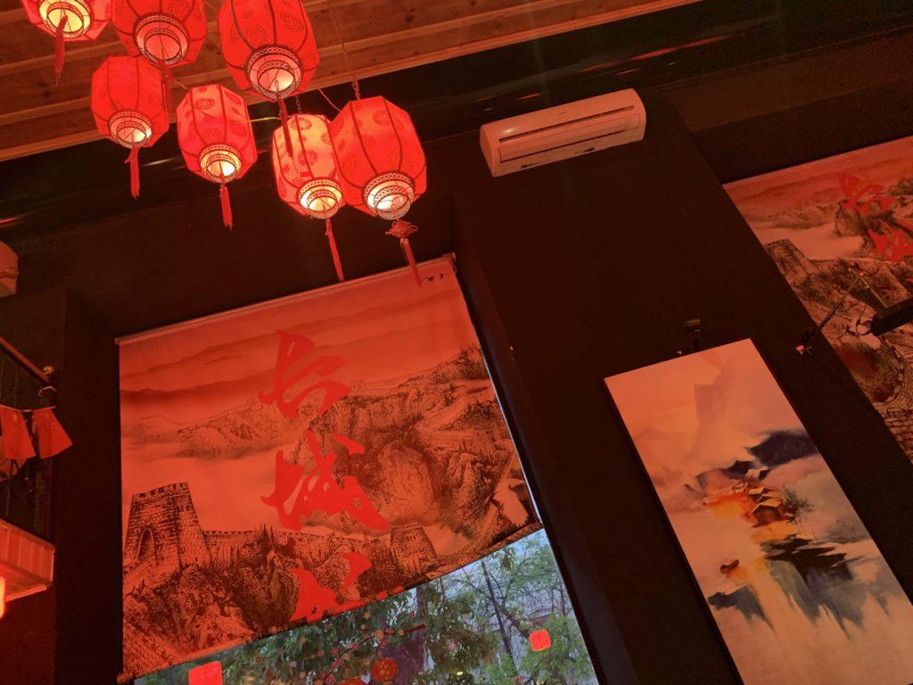中華料理店内