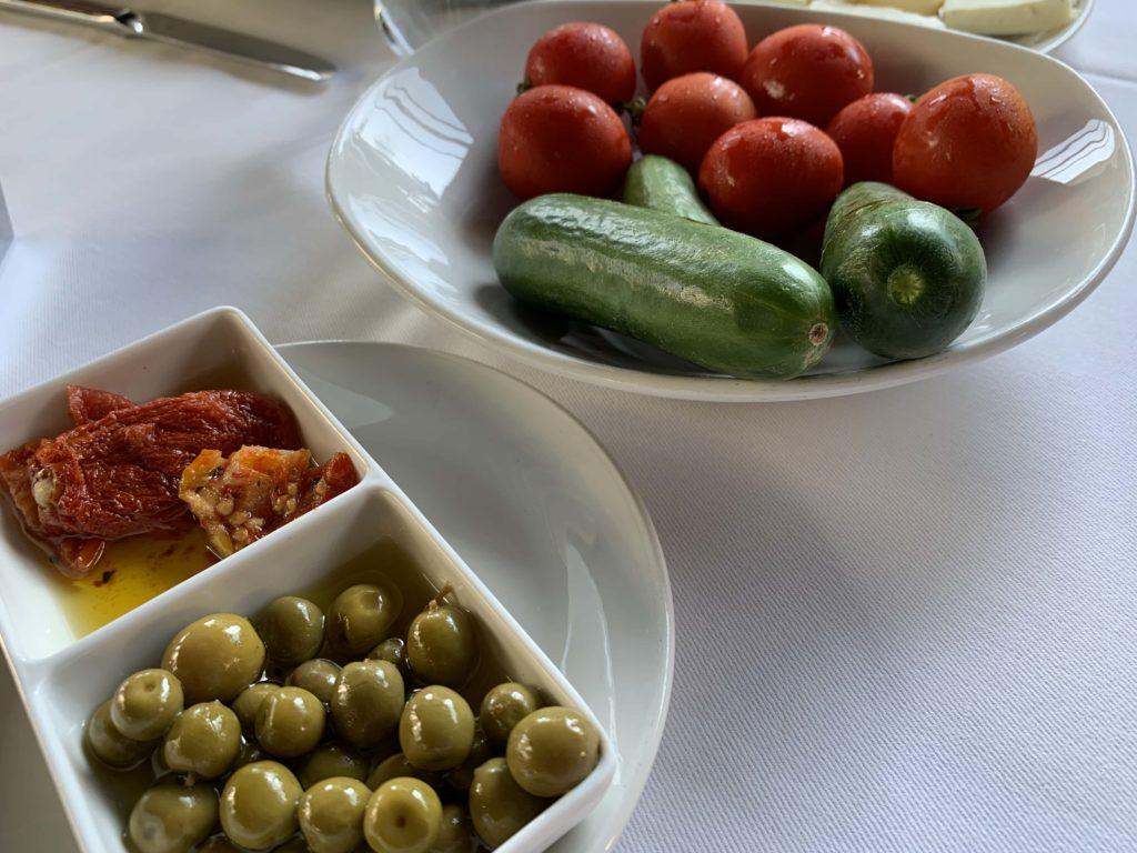 Turkish food appetizer