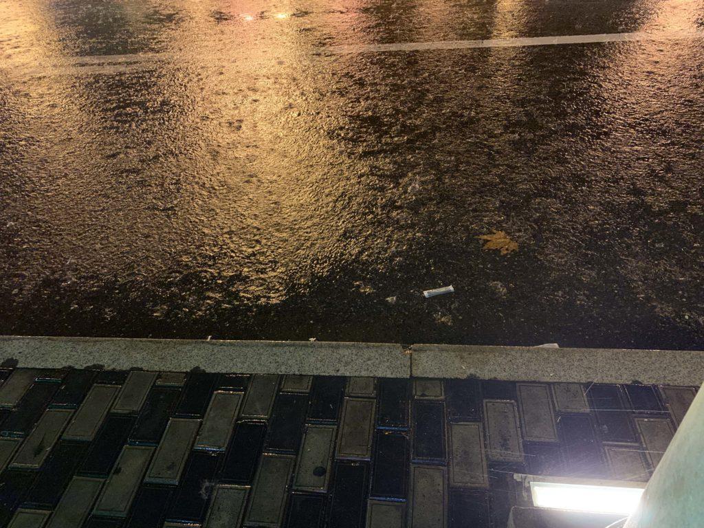バクーの豪雨