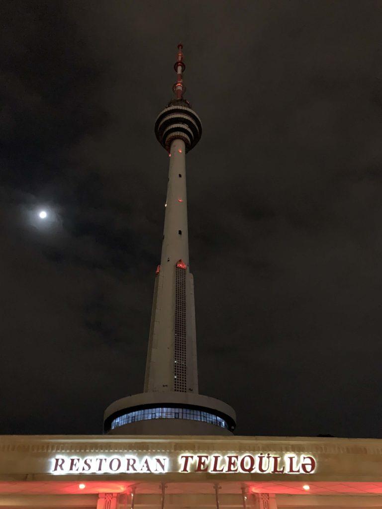 アゼルバイジャンのテレビ塔