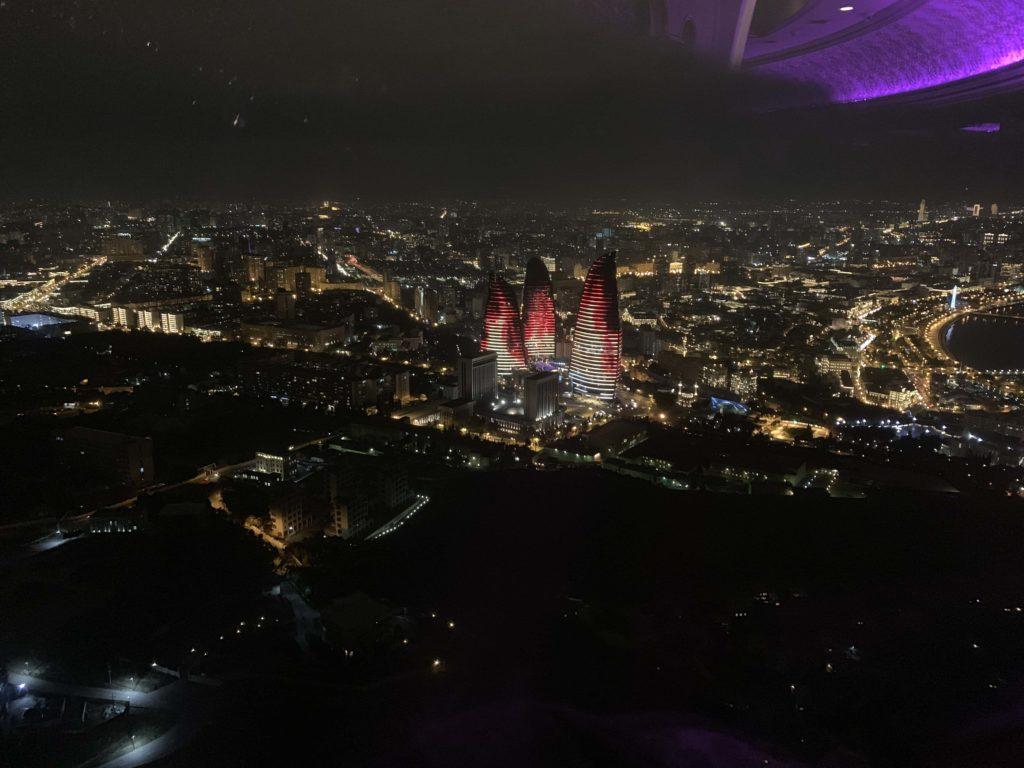 テレビ塔からの夜景