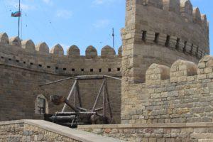 世界遺産の城壁