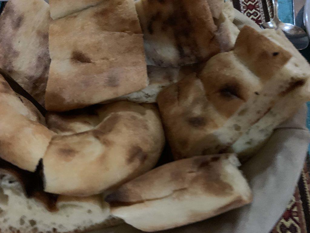 付け合せのパン