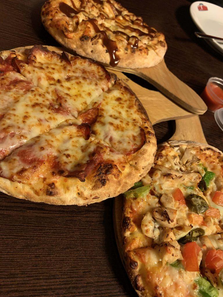 Papa Jone'sのピザ